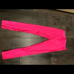 American Apparel Hot Pink Leggings